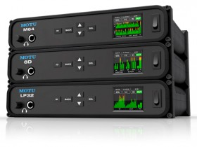 MOTU发布M64, 8D和LP32三个音频接口